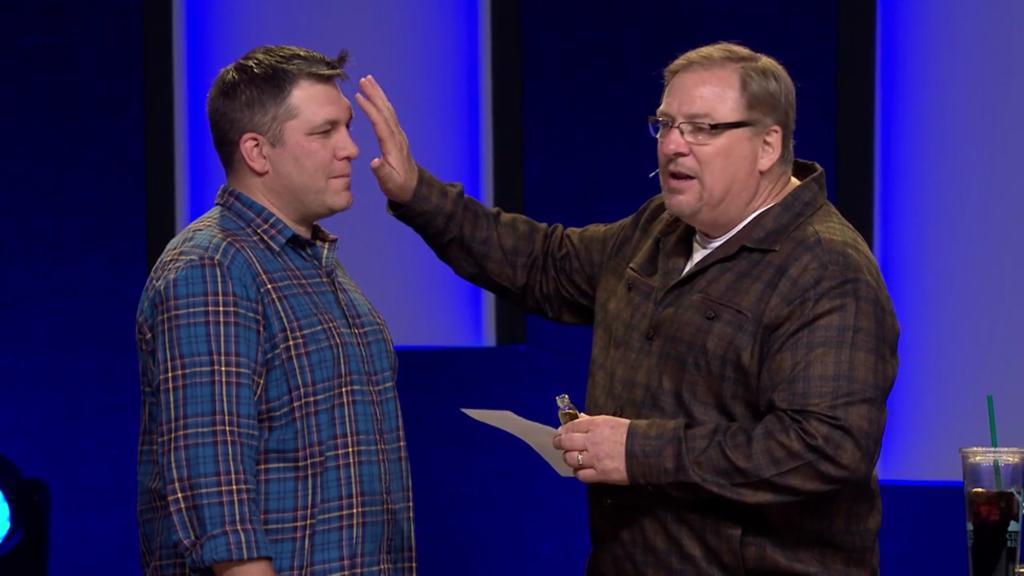 Rick Warren Anointing Training